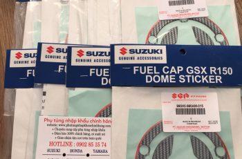 Tem nắp bình xăng Suzuki GSX 150
