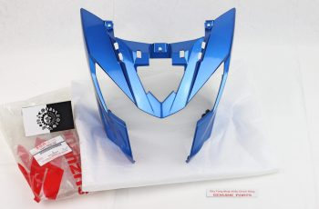 Ốp đầu xanh GP – Satria Fi, Raider Fi