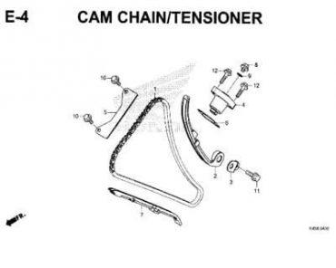 E4 – SÊN CAM/TĂNG CAM – HONDA CBR150R (K45N)