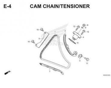 E4 – SÊN CAM/TĂNG CAM – HONDA WINNER – GTR V1 150 (K56F)