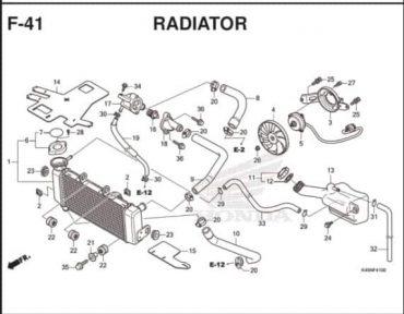 F41 – KÉT NƯỚC – HONDA CBR150R (K45R)